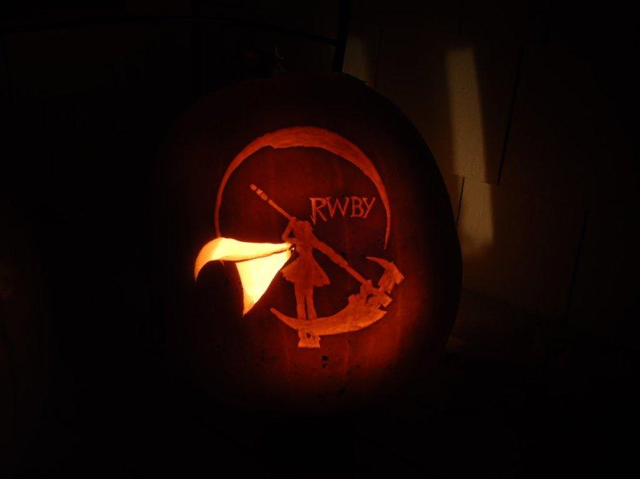 rwby_ruby_pumpkin_by_littlegardengnome-d6umkt7